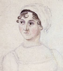 Jane Austen as drawn by her sister Cassandra