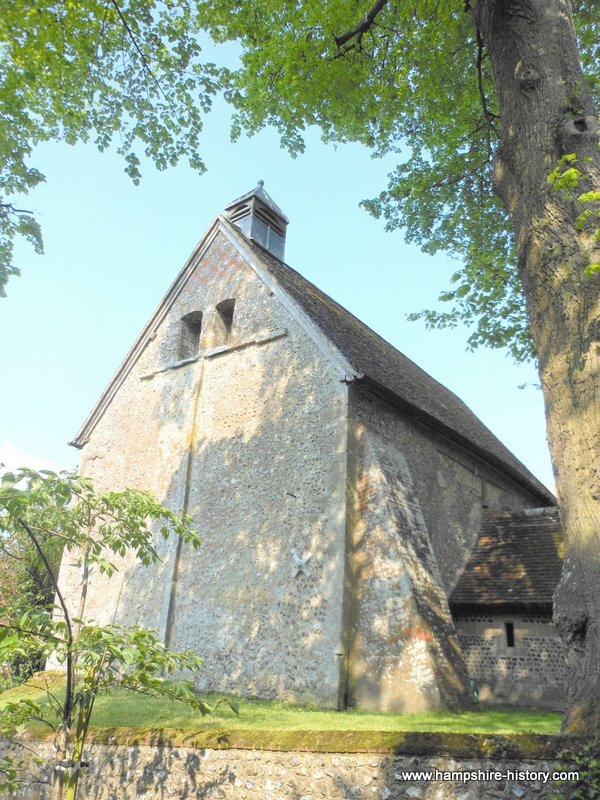 Untangling the early church in Hampshire, the Anglo Saxon church