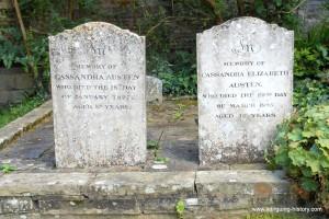 Jane Austen family graves