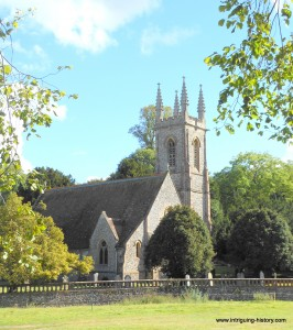 Church where the sister and mother of Jane Austen are buried