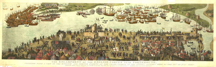 Battle of the Solent and Southsea Castle