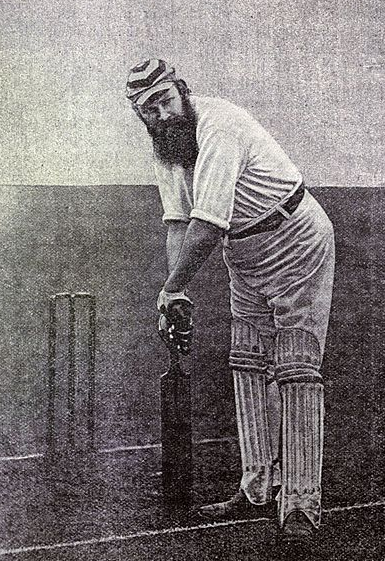 Could WG Grace be holding a Nether Wallop bat?