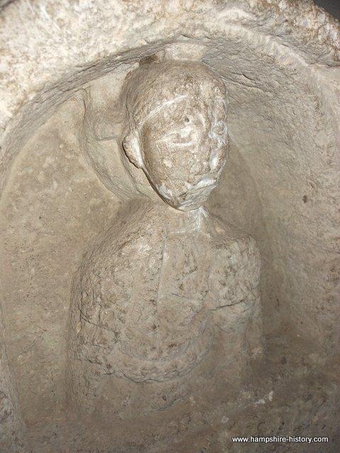 Anglo Saxon women grave cover