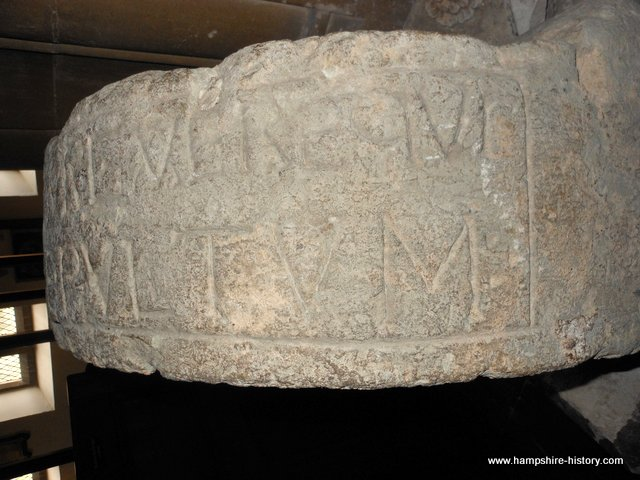Anglo Saxon women grave inscription