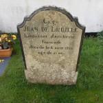 Grave of Napoleonic soldier