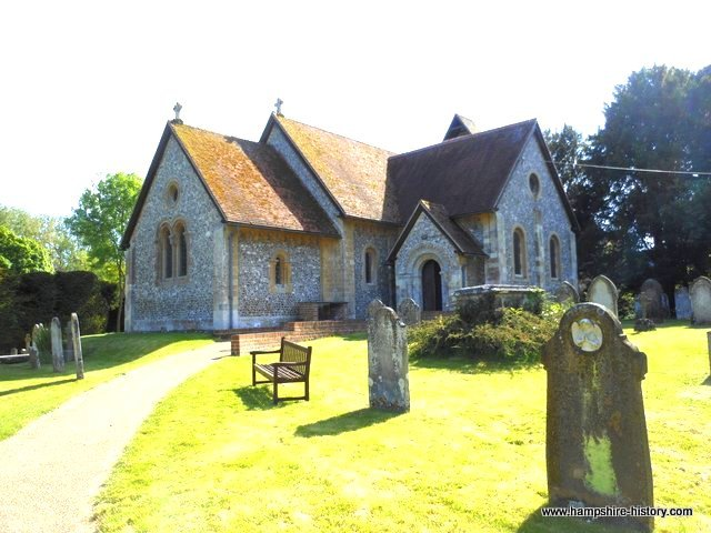 John Hughes horse thief buried in Itchen Abbas church yard