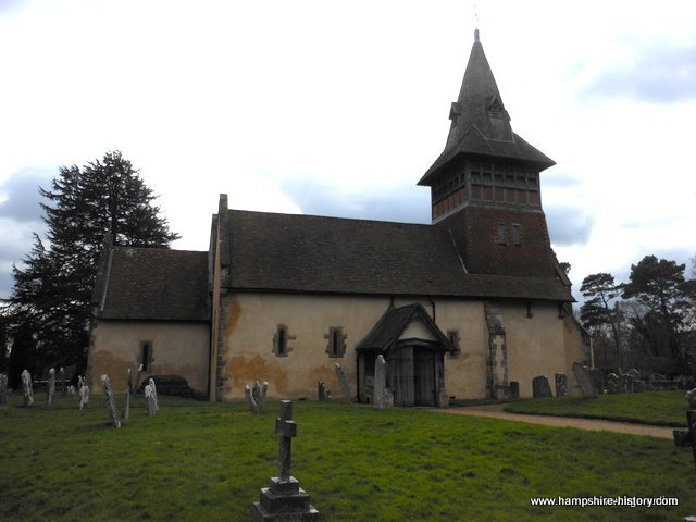 All Saints Church Steep