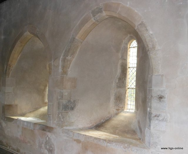 All Saints Church Steep lancet windows