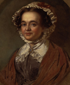 Painting of Mary Mitford