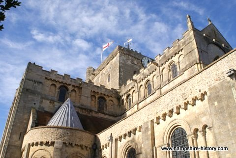 Romsey Abbey Hampshire