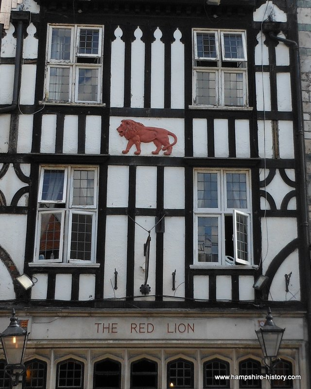Red Lion The SouthamptonPlot