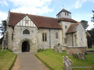St Mary's Church Breamore Hampshire