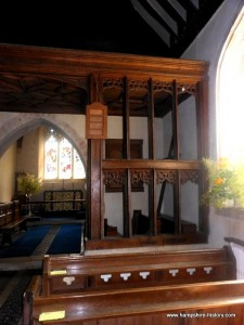 St Mary the Virgin Greywell rood-loft