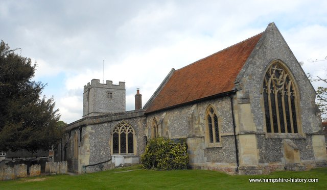 St Peter's Church St Mary Bourne