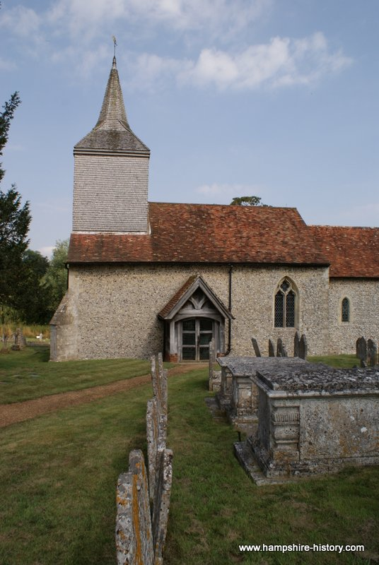 Stoke Charity church Hampshire