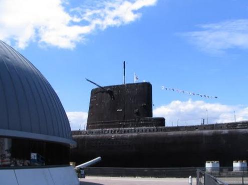 Royal Navy Submarine Museum Gosport