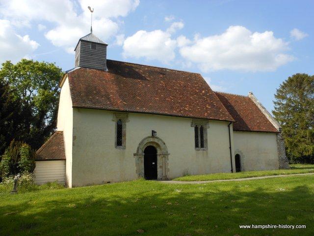 Upper Wield church
