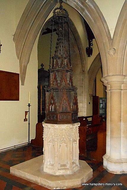 Baptismal Font Lid Hursley