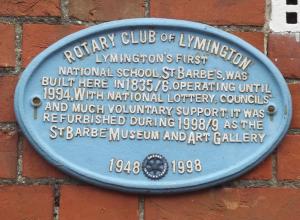 St Barbe Museum Lymington