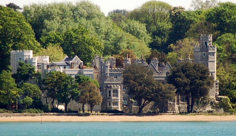 Netley Castle and Abbey