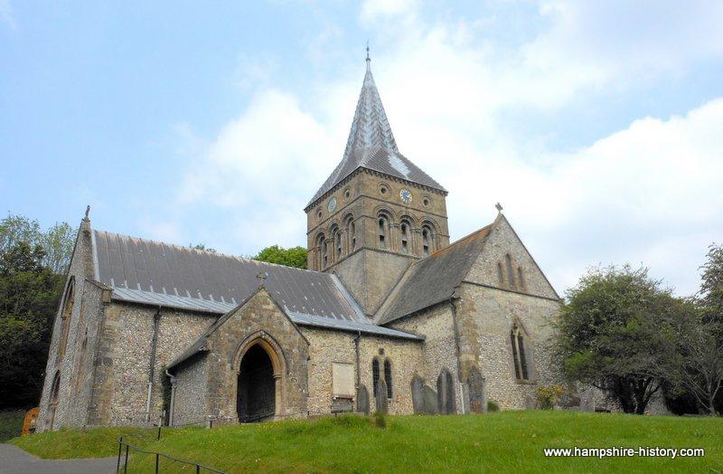 All Saints Church East Meon Hampshire