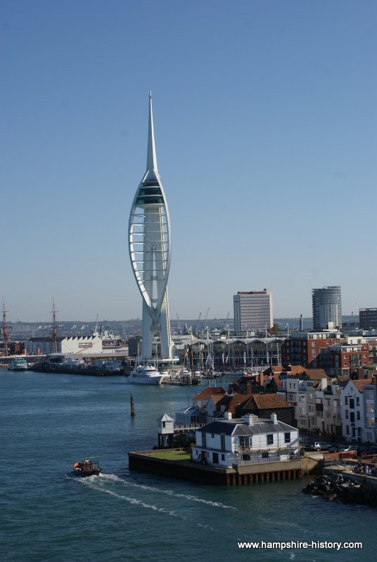 Portsmouth Harbour Hampshire