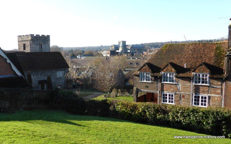The soke where the Blue Boar Inn stands