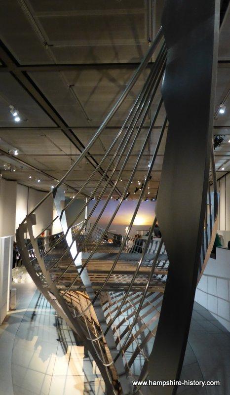 The Viking boat reconstruction British Museum