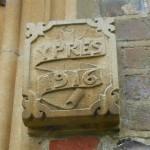St Michael's church Cheriton WWI