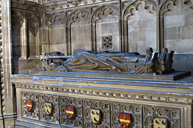 William Warham's Tomb Canterbury Cathedral