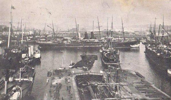 Southampton Docks 1905