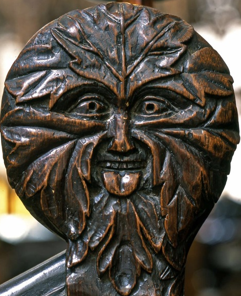 Green Man in Hampshire