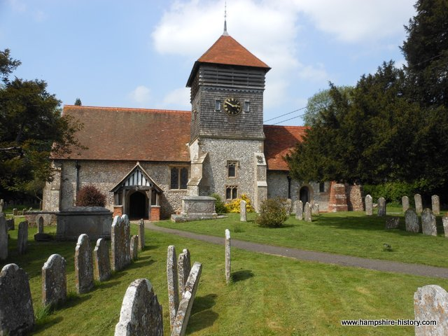 St Peter's Church Ropley
