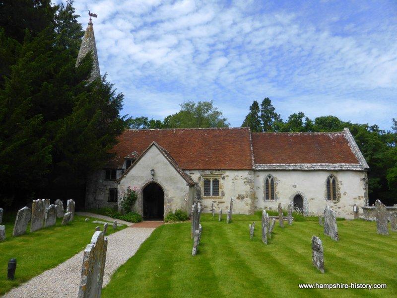 Brockenhhurst Church