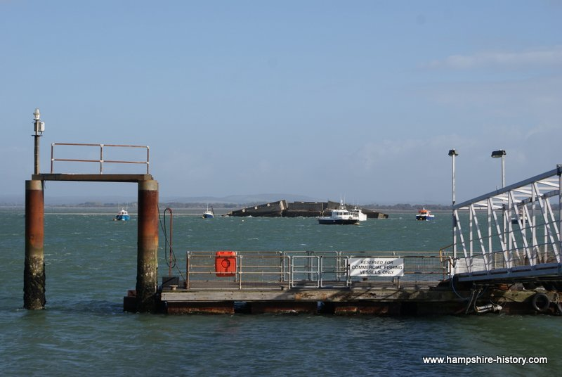 Hayling Ferry looking from Eastney to Hayling Island
