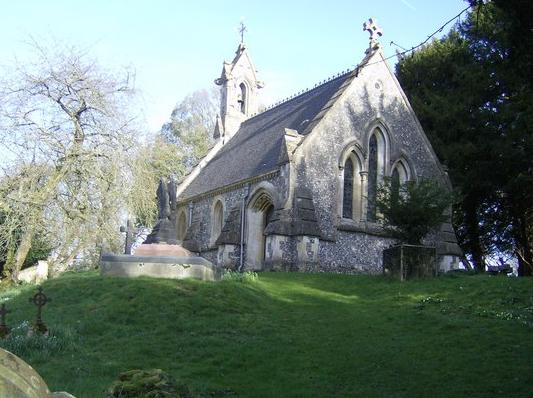 Highclere estate chapel