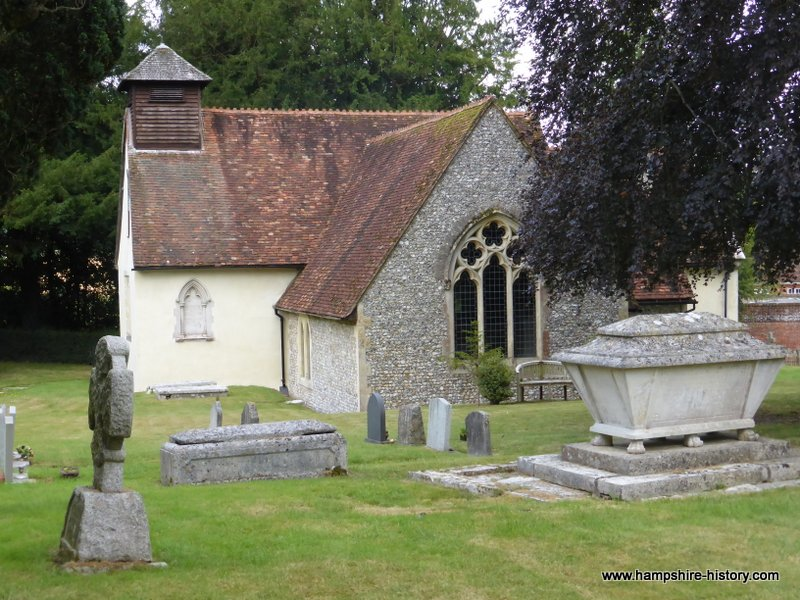 The Church of St Simon and St Jude Bramdean
