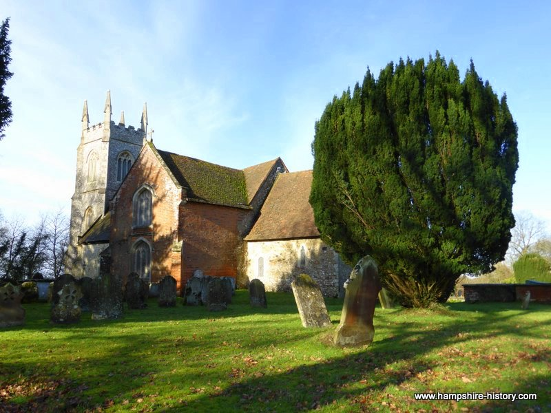 Church of St Mary's Hartley Wintney Hampshire