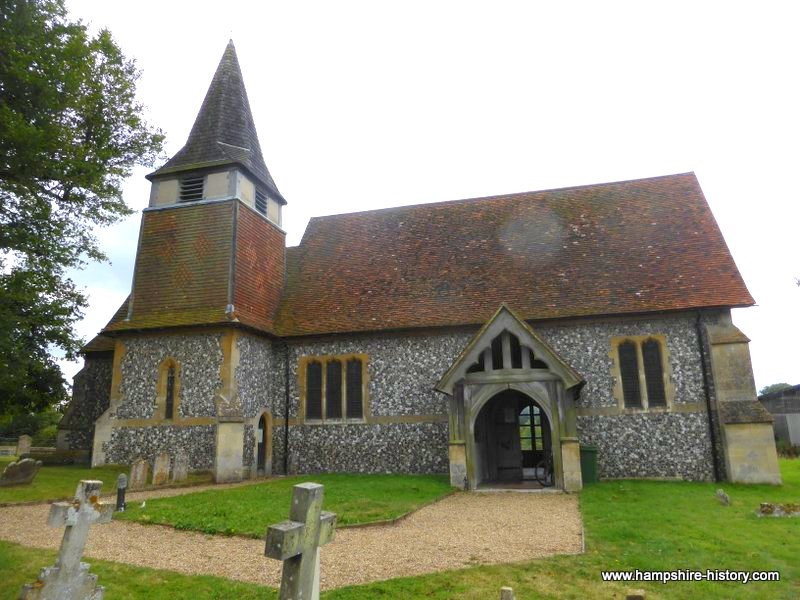 St Mary's Church Hartley Wespall Hampshire