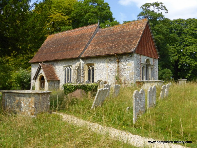 Quarley Church Hampshire