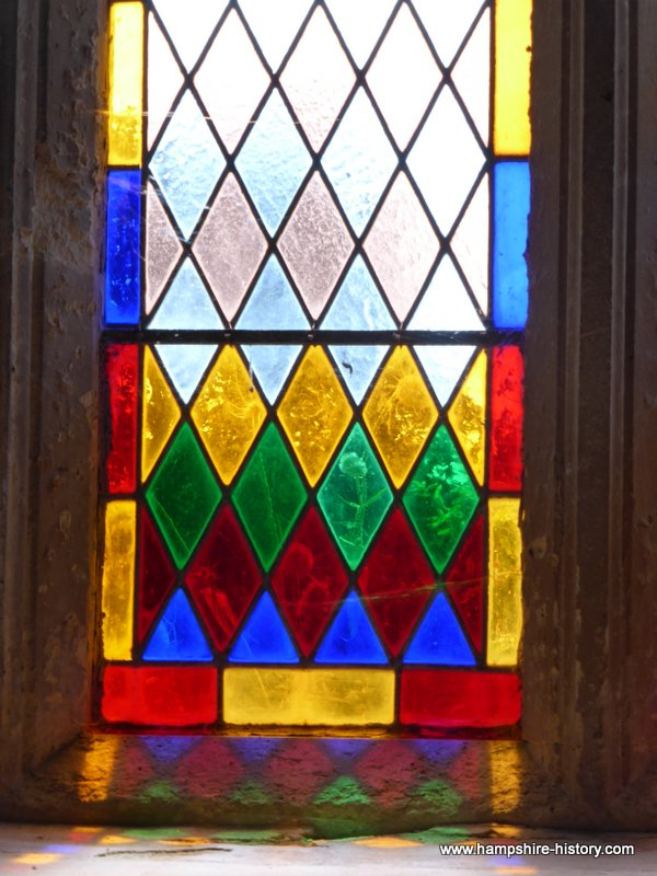 Stained Glass Quarley church