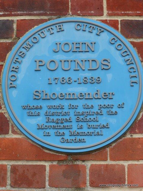 John Pounds Plaque Portsmouth