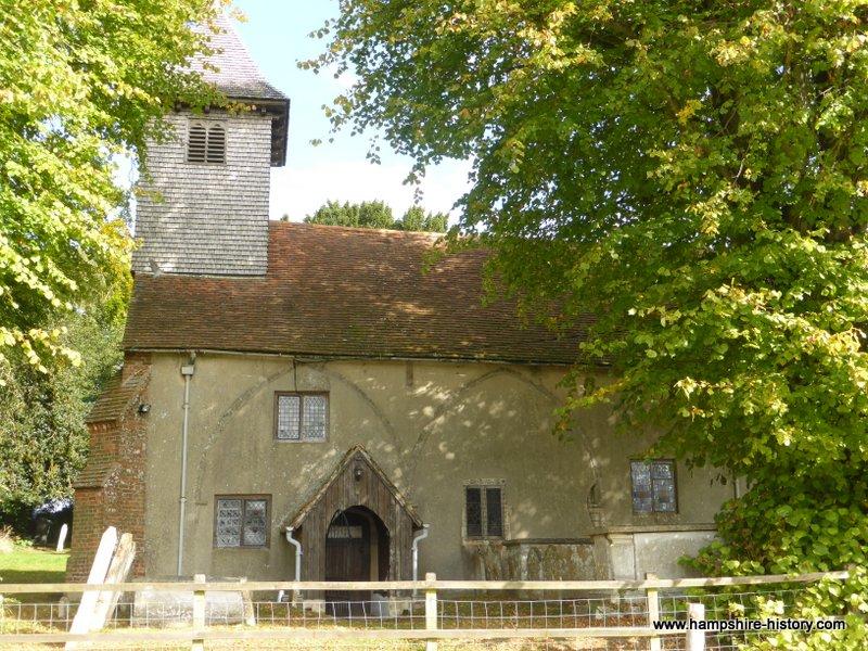 Knights Enham Hampshire history