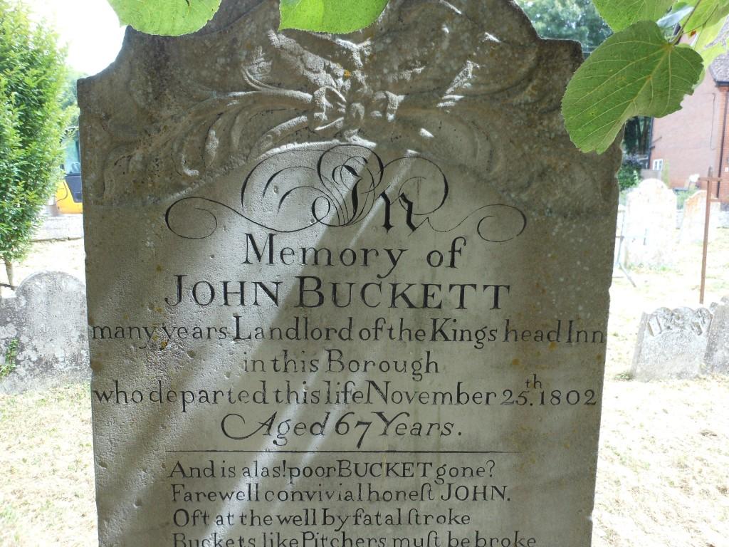 John Buckett Headstone