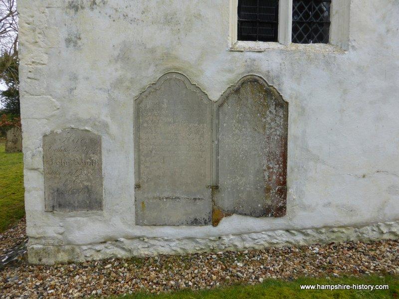 Ashley Hampshire headstones