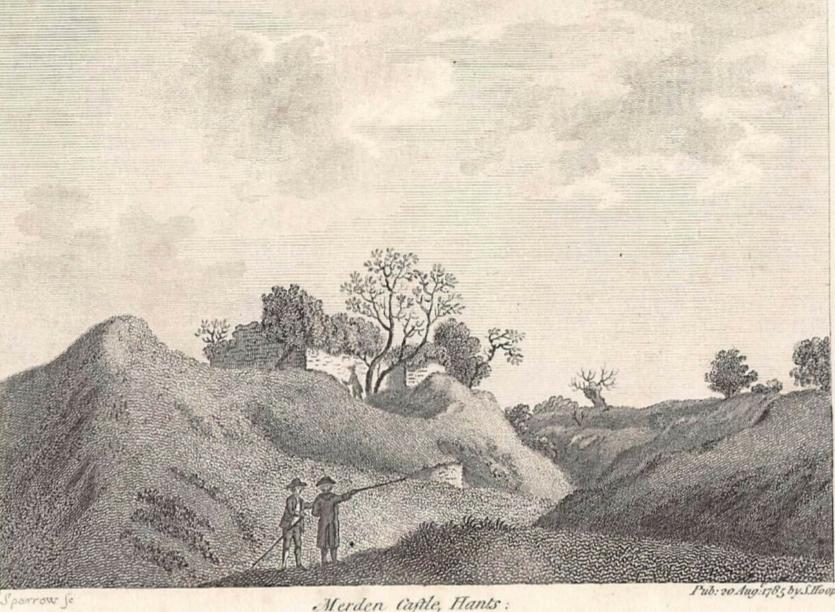 Merdon Castle 1785